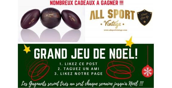 Grand jeu de Noël All Sport Vintage