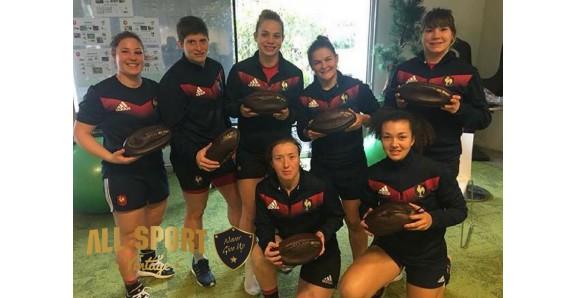 France rugby à XV féminines