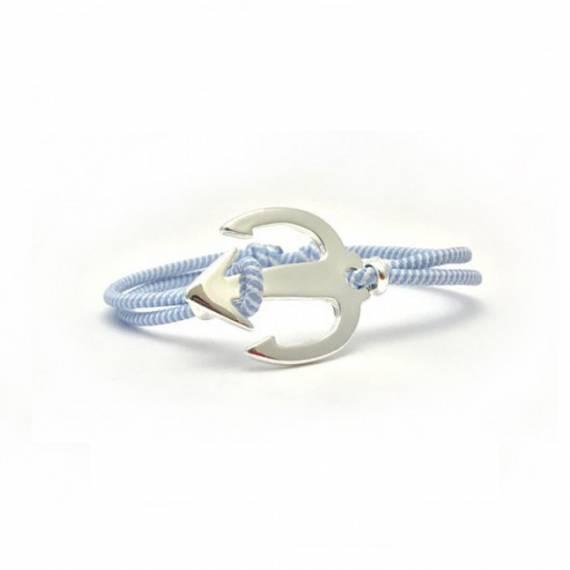 Bracelet Trident Design Finition Argent