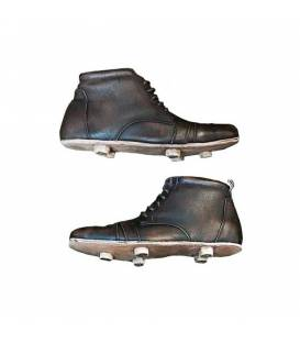 Customizable Leather Pair of Rugby Boots or Football Boots