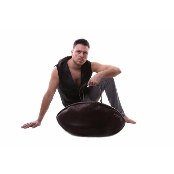 Sac de voyage Ballon de Rugby En Cuir Vintage personnalisable