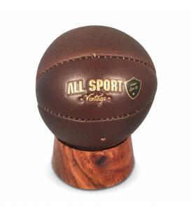 Baby-Ball Basket En Cuir Vintage personnalisable.