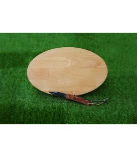 """Planche apéro rugby """"La planche personnalisable"""" avec son couteau"""