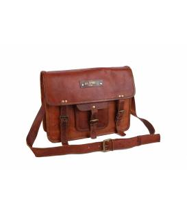 Customizable leather briefcase holder