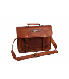 Customizable Leather briefcase