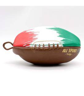 Trousse de toilette ballon de rugby Italie
