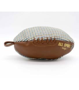 Trousse de toilette ballon de rugby Papy