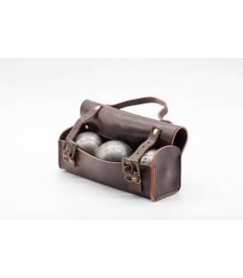 """""""Le Vintage"""" petanque ball case"""
