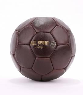 Ballon de Handball En Cuir Vintage.