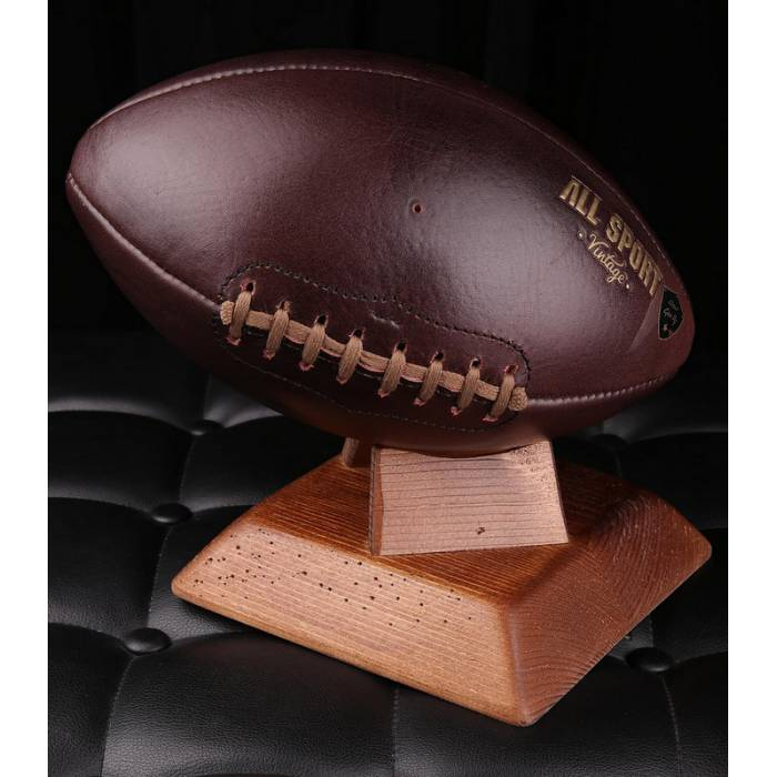 American Foot Ball In Vintage Leather All Sport Vintage