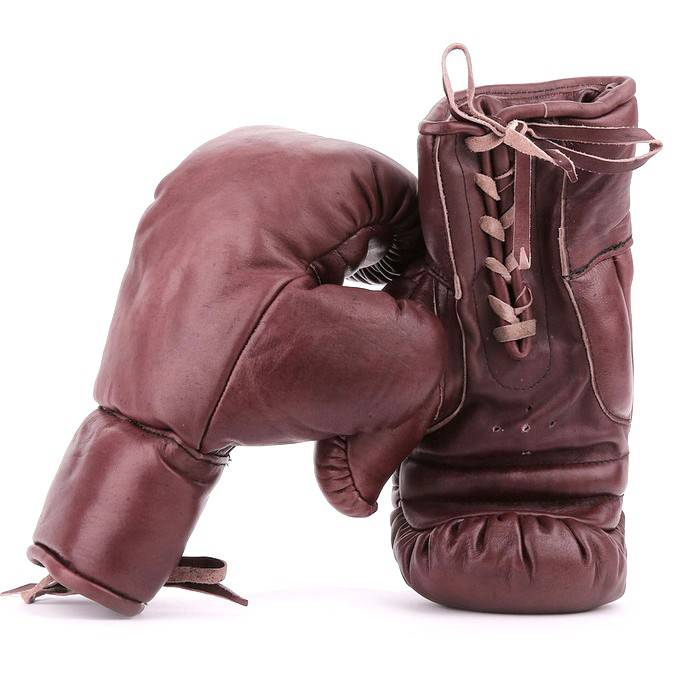 gants de boxe et lacets 100 cuir vintage all sport vintage. Black Bedroom Furniture Sets. Home Design Ideas