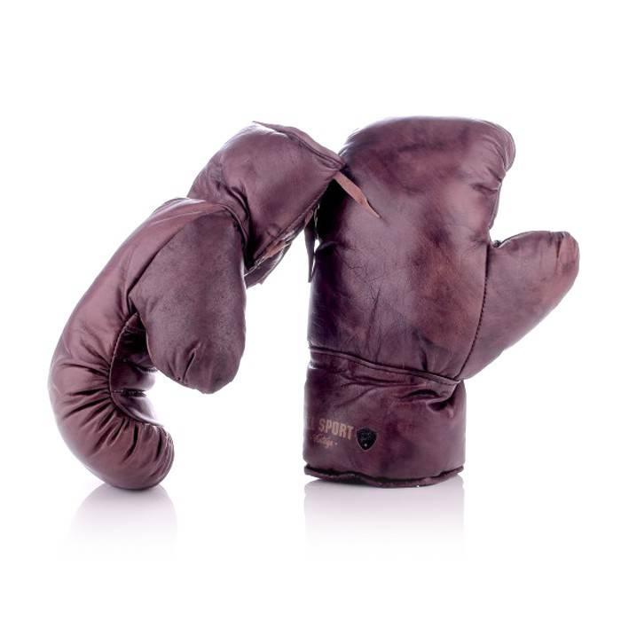 gants de boxe et lacets 100 cuir vintage all sport vintage. Black Bedroom Furniture Sets. Home Design Ideas