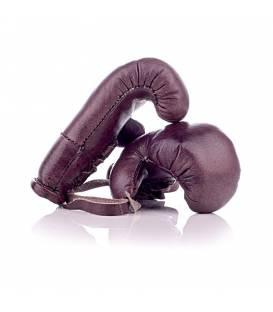 Gants de boxe en cuir vintage MINI personnalisable