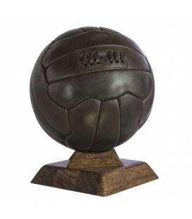Ballon de Football En Cuir Vintage