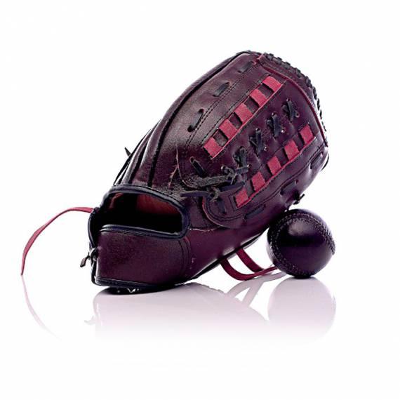 Gants de base ball en cuir vintage personnalisable