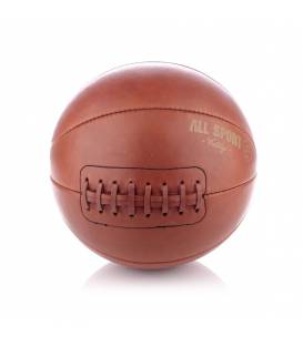 Vintage Leather Basket Ball