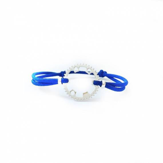 Bracelet Cycle Finition Argent