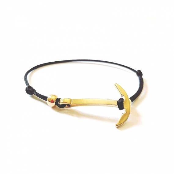 Bracelet Ancre Marine Finition OR
