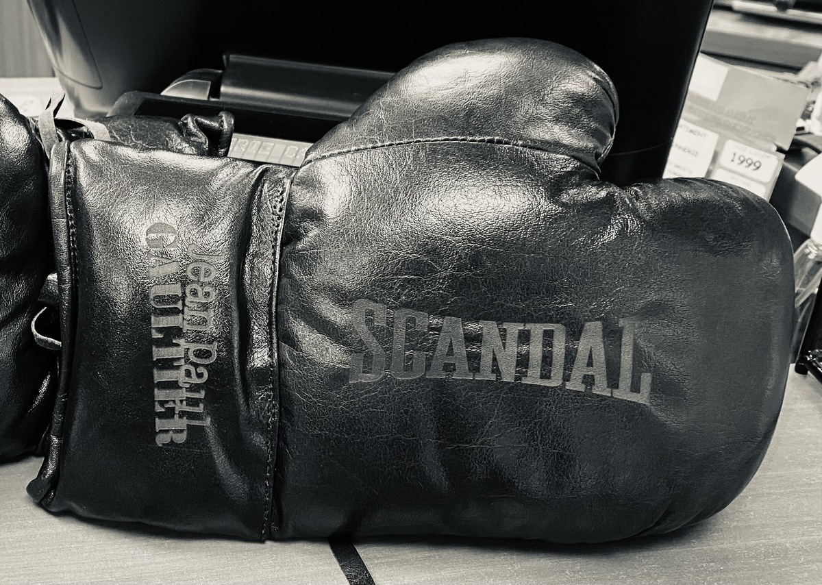 all-sport-vintage-Jean-paul gaultier personalized boxing glove